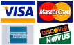 We accept VISA, MasterCard, Discover, American Express, EBT and Debit Cards